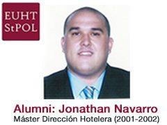 Alumni: JONATHAN NAVARRO (Máster en Dirección Hotelera, promoción 2001-2002)