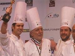 Alain Guiard consigue la copa del mundo de Catering