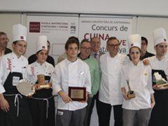 Massimo Bottura entrega los premios del Concurso de Cocina Joven de Cataluña