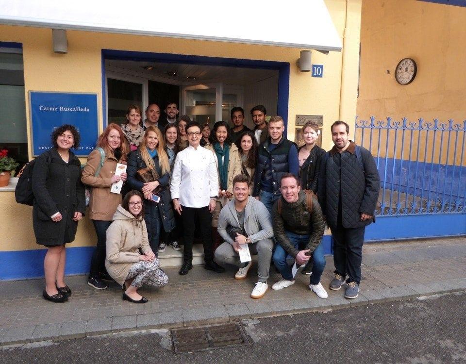 Visita al restaurante Sant Pau de Carme Ruscalleda