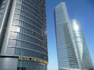 (Hotel Eurostars Madrid Tower)