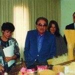 1987, 1r Concurso de Cocina Joven de Catalunya, con Ugo Tognazzi como chef invitado y Presidente del Jurado