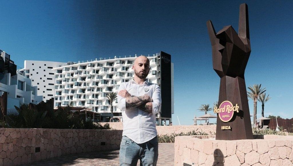 Prácticas de verano – Ivan, Hard Rock Hotel (Ibiza)