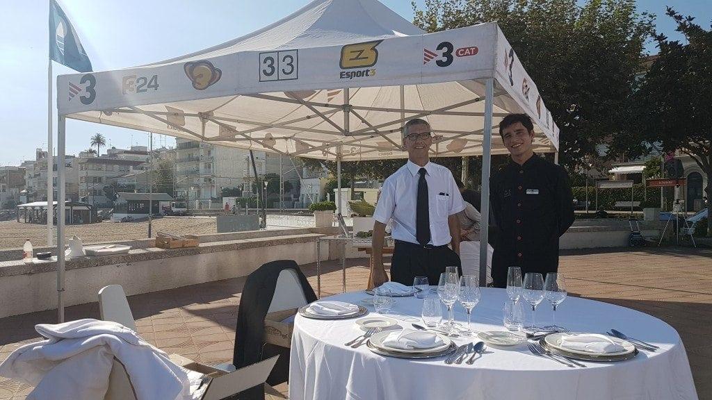 El protocolo del montaje de la mesa en la restauración – Divendres TV3