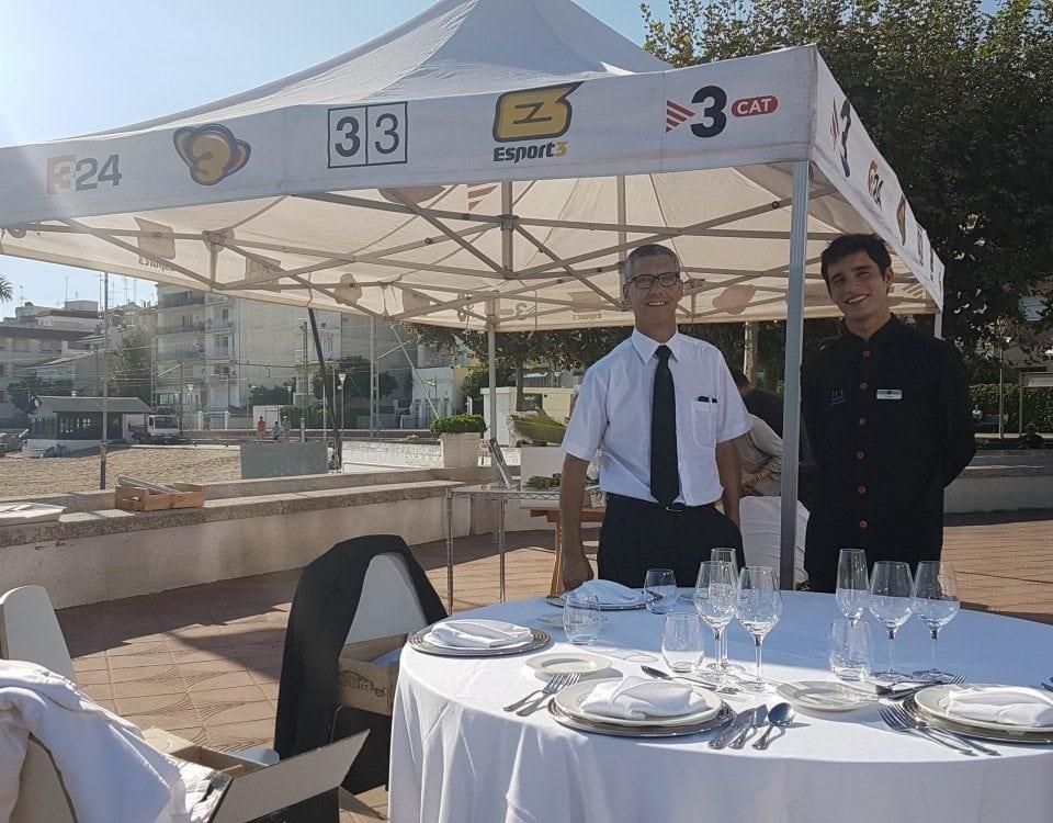 Josep Sala i Nil Mas al programa Divendres de TV3