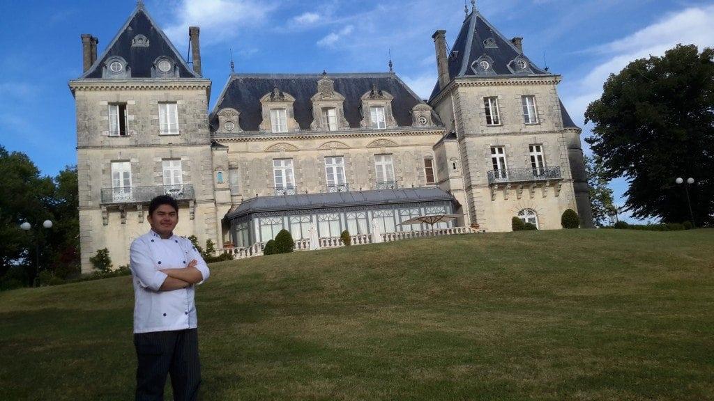 Prácticas de verano – Andrés, Château de Mirambeau (Francia)