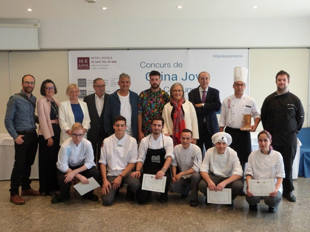 EUHT StPOL celebrates the 31st Catalonia Young Cooking Contest