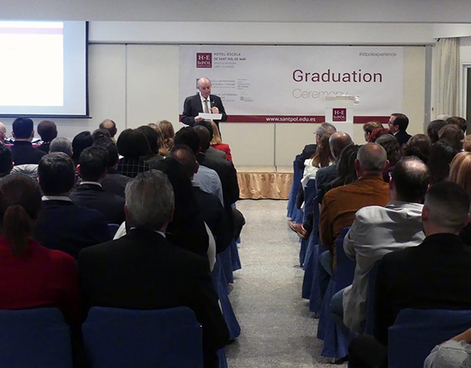 acte graduació 2018 EUHTSt