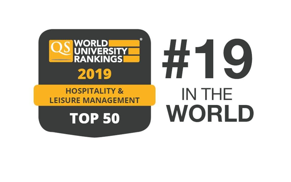 Euht Stpol Among The World S Top 20 Universities In Hospitality And Leisure Management Euht Stpol