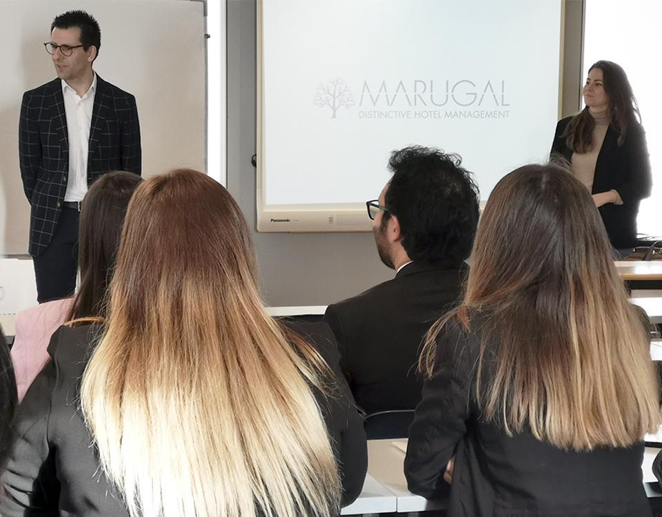 Prácticas en hoteles singulares de 5 estrellas de la mano de Marugal