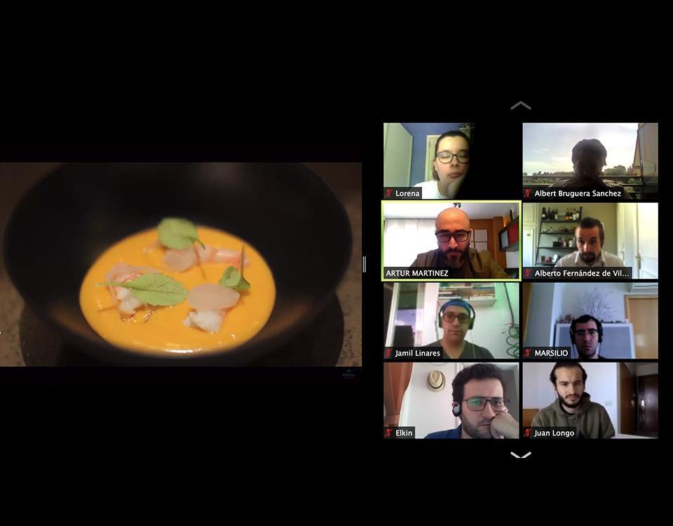 Masterclass online Aürt_Master en Artes Culinarias y Dirección de Cocina de EUHT StPOL