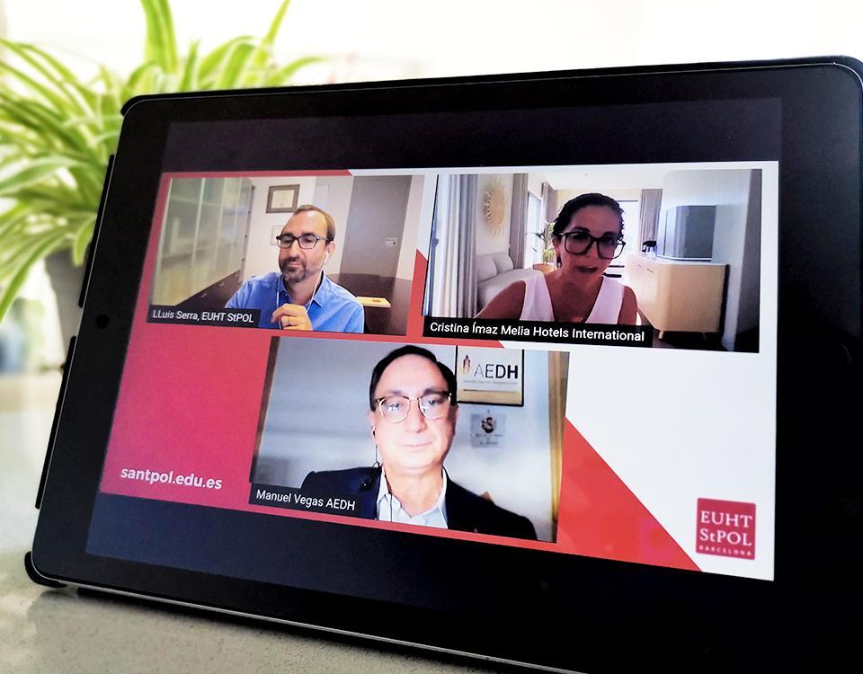 ¿Qué competencias se necesitan para ser director/a de hotel? webinar de EUHT StPOL
