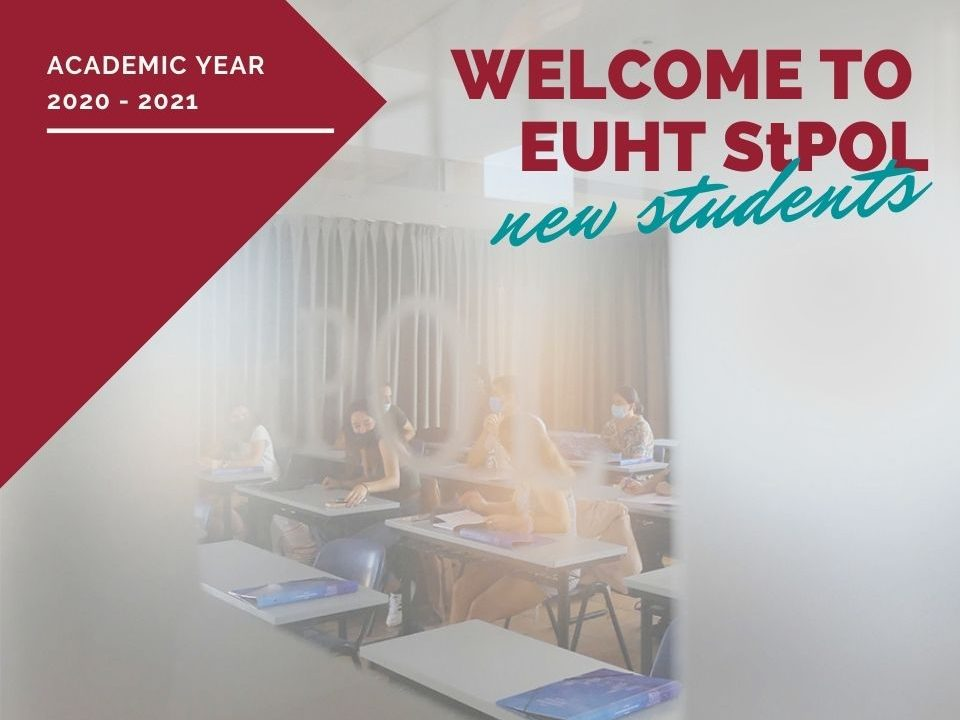Everything ready for the new academic year 2020/2021