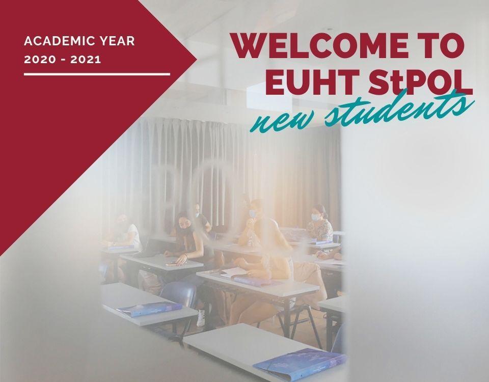 Todo listo para el inicio del nuevo curso académico 2020/2021 en EUHT StPOL