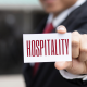 to switch to a career in hospitality